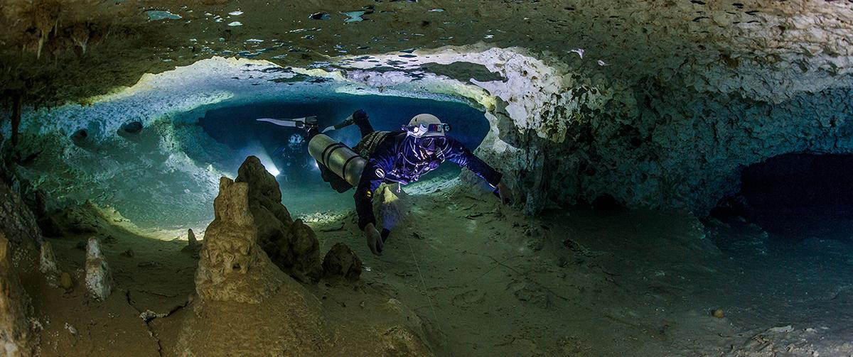 Cave diving in Mexico ProTec Dive Centers