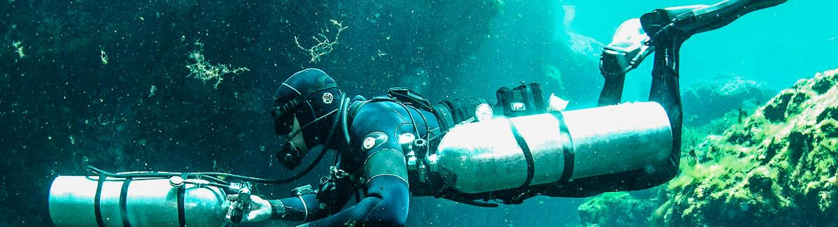 Sidemount Instructor Trainer training